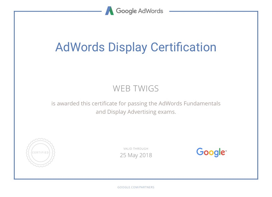 Webtwigs Adwords Display