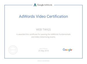 Webtwigs Adwords video
