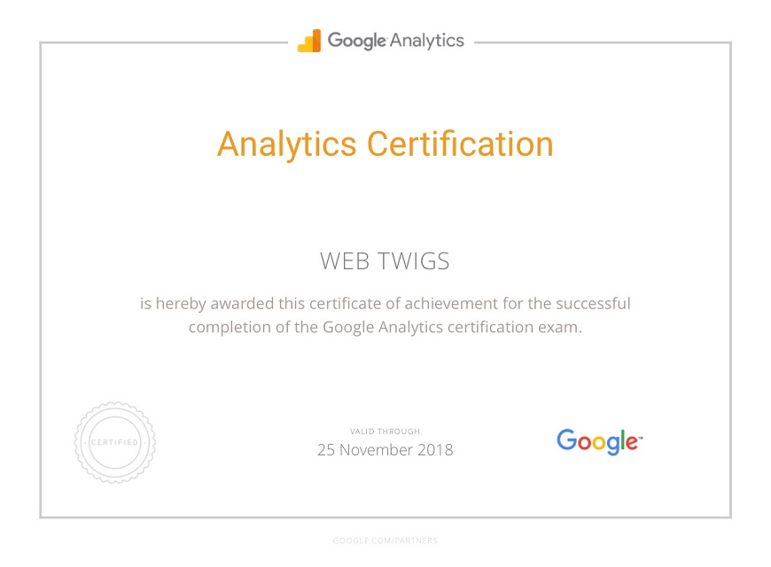 Webtwigs Analytics